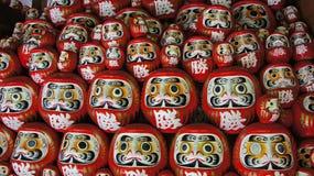 Daruma lale Katsuoji świątynia w Japonia zdjęcie stock