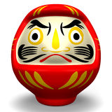 Daruma Lucky Doll Royalty Free Stock Photography