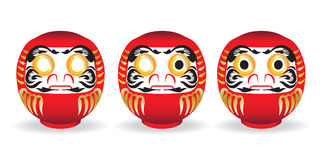 DARUMA lucky doll Royalty Free Stock Photo