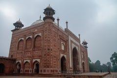 darwaza bramy wielki i mahal rauza taj Brama Taj Mahal, Agr Zdjęcia Royalty Free