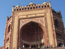 Darwaza Buland που γίνεται από το akbar sikri rajsthan Ινδία Fatehpur Στοκ Εικόνες