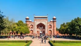 Darwaza i Rauza, the Great Gate of Taj Mahal - Agra, India. Darwaza i Rauza, the Great Gate of Taj Mahal in Agra - Uttar Pradesh, India Royalty Free Stock Image