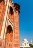 Darwaza i Rauza, the Great Gate of Taj Mahal - Agra, India. Darwaza i Rauza, the Great Gate of Taj Mahal in Agra - Uttar Pradesh, India Stock Images