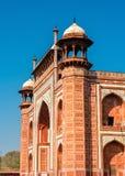 Darwaza i Rauza, the Great Gate of Taj Mahal - Agra, India. Darwaza i Rauza, the Great Gate of Taj Mahal in Agra - Uttar Pradesh, India Stock Photo