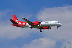 Darwin Airline (new livery) Saab 2000 Stock Image