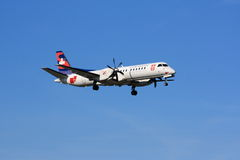 Darwin Airline Saab 2000 Stock Images