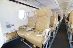 Darwin Airline Saab 2000 interior Stock Photo