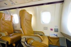 Darwin Airline Saab 2000 interior Stock Photos