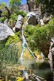 Darwin cai em um dia ensolarado, área das molas de Panamint, parque nacional de Vale da Morte, Califórnia imagem de stock royalty free