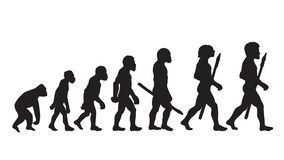 Darwin Evolution Theory Darwin Evolution Definition Darwin Evolution Of Man Lizenzfreies Stockbild