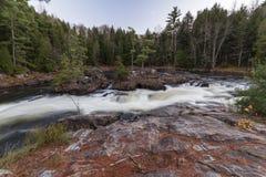 Darwin Falls, controllo di qualità di Rawdon Fotografia Stock