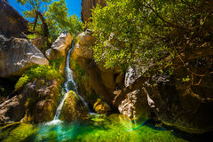 Free Darwin Falls Death Valley Stock Photography - 77279122