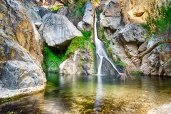 Free Darwin Falls Near Panamint Springs In Death Valley National Park, California Royalty Free Stock Images - 117017949