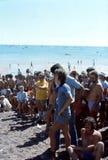 1976 Darwin, N T australia Regata de la lata de cerveza Imagen de archivo libre de regalías