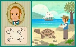 Darwin przygoda Zdjęcia Royalty Free