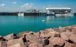 Darwin Waterfront Wharf, Território do Norte, Austrália imagens de stock