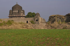 Darya可汗` s坟茔在Mandu,印度 免版税库存照片