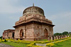 Ancient Mausoleum and Tomb India Stock Photo