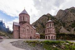 Daryal monastery. In mountain part of Georgia Royalty Free Stock Photo
