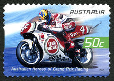Daryl Beattie Australian Postage Stamp Stock Photo