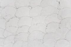 Das ähnelnde Muster Fisch-stufen von der Wand ein Stockfotografie