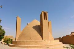 Das Äußere des Meybod-Wasserreservoirs, Meybod, der Iran lizenzfreie stockbilder