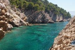 Das ökologisch sauberste adriatische Meer Lizenzfreie Stockfotografie