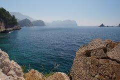 Das ökologisch sauberste adriatische Meer Lizenzfreie Stockbilder