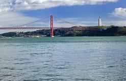 Das 25. der April-Brücke Stockfoto