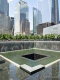 Das 9/11 Memorial Park Stockbilder