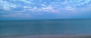 Das Abend Asowsches Meer Stockbilder