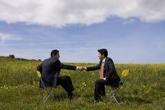 Das Abkommen Lizenzfreie Stockfotografie