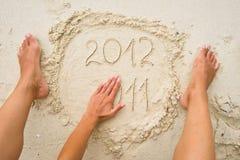 Das ablaufende Jahr 2011 Lizenzfreies Stockbild