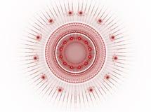Das abstrakte Farbe Fractalbild. Lizenzfreie Stockbilder