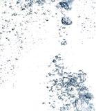 Das abstrakte Wasserspritzen Lizenzfreie Stockfotos