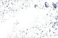 Das abstrakte Wasserspritzen Stockfotografie