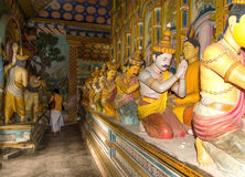 Das achtundzwanzig Buddhas Stockbilder