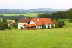 Dorf im Österreich Stockbilder