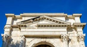 Das ACRO-dei Gavi, eine alte Struktur Lizenzfreie Stockfotos