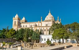 Das Acropolium, das alias Heilige Louis Cathedral in Byrsa - Karthago, Tunesien Lizenzfreies Stockbild