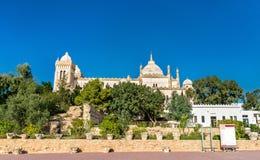 Das Acropolium, das alias Heilige Louis Cathedral in Byrsa - Karthago, Tunesien Lizenzfreie Stockfotos