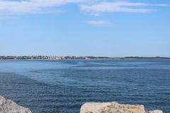Das adriatische Meer Lizenzfreie Stockfotos