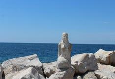 Das adriatische Meer Stockfoto