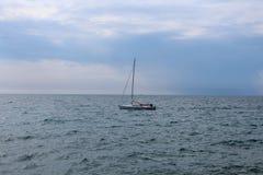 Das adriatische Meer Stockfotos