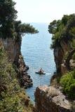 Das adriatische Meer Stockfotografie