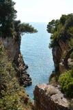 Das adriatische Meer Lizenzfreies Stockbild