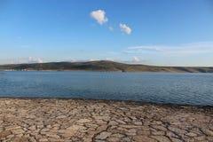 Das adriatische Meer Stockbild