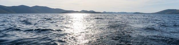 Das adriatische Meer Lizenzfreies Stockfoto