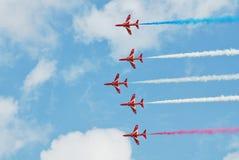 Das aerobatic Team der roten Pfeile Stockfoto