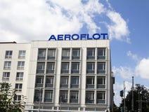 Das Aeroflot-Gebäude Stockbild